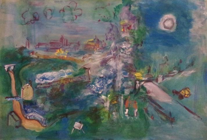 Langres d'après Raoul Dufy