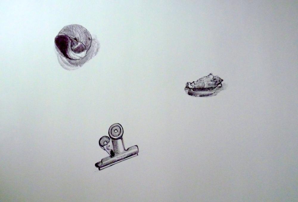 Dessins : Etude sur l'objet (1/4)